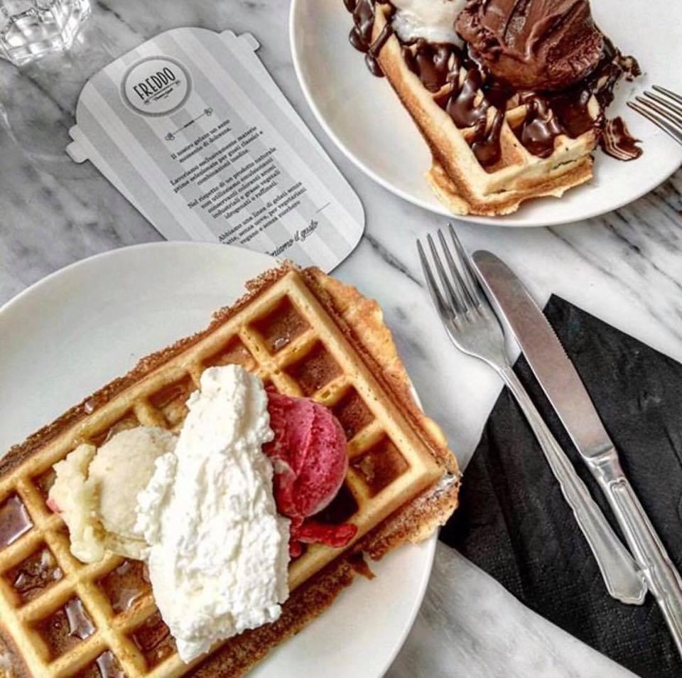 Cercate i veri waffle a Roma? Provate Freddo!
