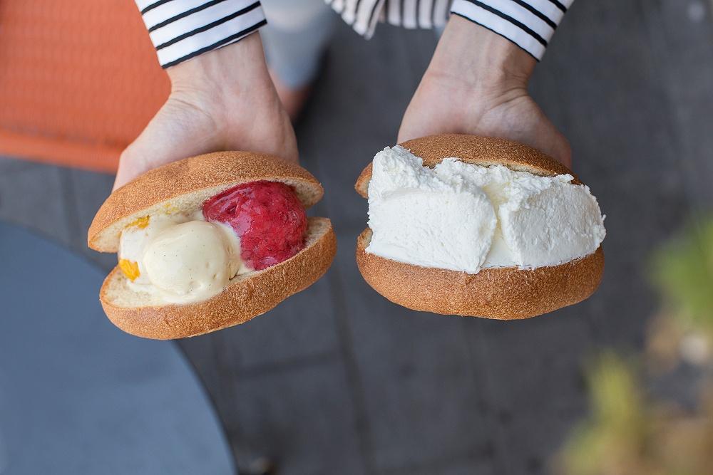 Maritozzo con la panna a Roma? Provalo da Freddo con il gelato!