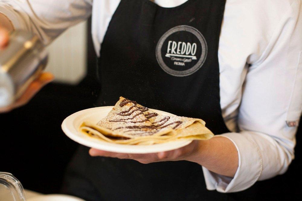 Crepes gluten free: gustale insieme al gelato di Freddo!