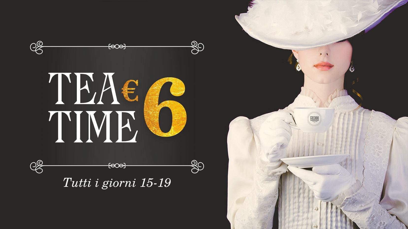 Tea Time: l'ora del Tè da Freddo Gelato!