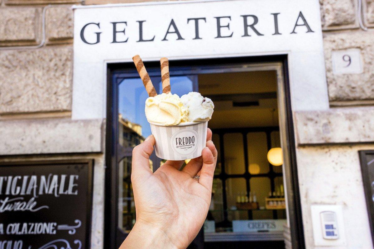 Freddo Gelato tra le migliori gelateria di Roma per Romeing!